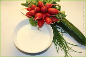 weiße Sommersuppe